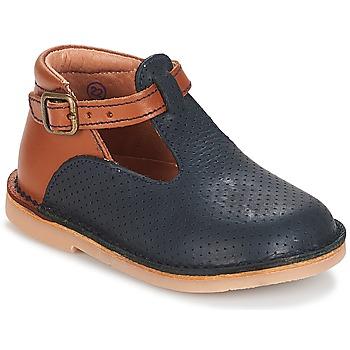 Cipők Lány Balerina cipők  André SABLE Tengerész