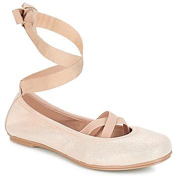 Cipők Lány Balerina cipők / babák André ELEANOR Rózsaszín