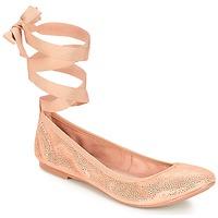 Cipők Női Balerina cipők / babák André ACTEE Rózsaszín