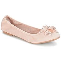 Cipők Női Balerina cipők / babák André DAHLIA Bőrszínű