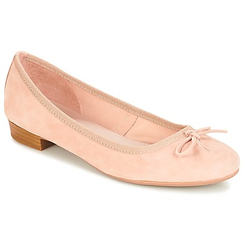 Cipők Női Balerina cipők  André CINDY Bézs