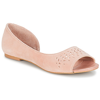 Cipők Női Balerina cipők  André HELIA Rózsaszín