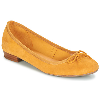 Cipők Női Balerina cipők  André CINDY Citromsárga