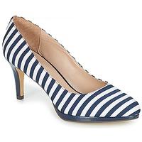 Cipők Női Félcipők André CRYSTAL Csíkos / Kék