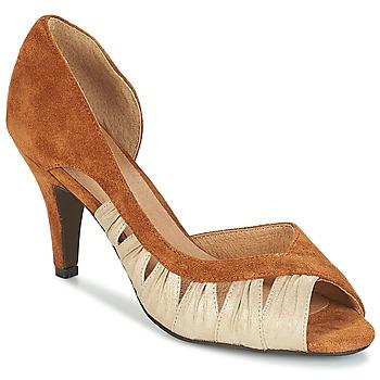 Cipők Női Félcipők André PUNGI Teve