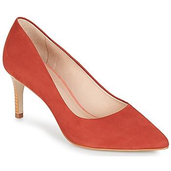 Cipők Női Félcipők André SCARLET Piros / Narancssárga
