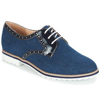 Cipők Női Oxford cipők André DERIVEUR Tengerész