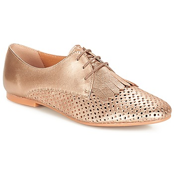 Cipők Női Oxford cipők André DELICAT Arany