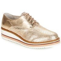 Cipők Női Oxford cipők André FLORIANE Arany