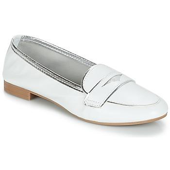 Cipők Női Mokkaszínek André CLOCHETTE Fehér