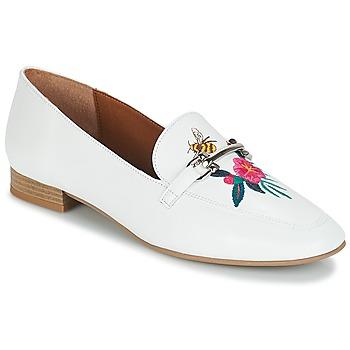 Cipők Női Mokkaszínek André HENSON Fehér