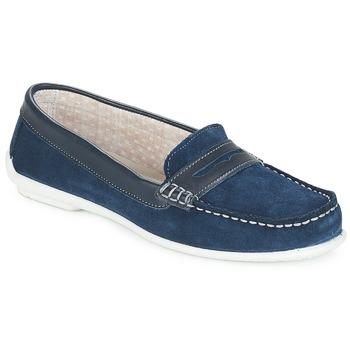 Cipők Női Mokkaszínek André FRIOULA Tengerész