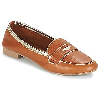 Cipők Női Mokkaszínek André CLOCHETTE Teve