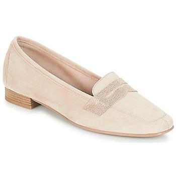 Cipők Női Mokkaszínek André NAMOURS Bézs