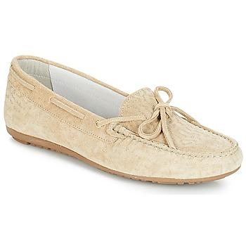 Cipők Női Mokkaszínek André FRIDA Bézs