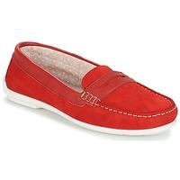 Cipők Női Mokkaszínek André FRIOULA Piros