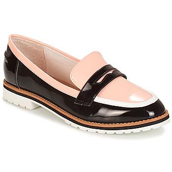 Cipők Női Mokkaszínek André PORTLAND Rózsaszín