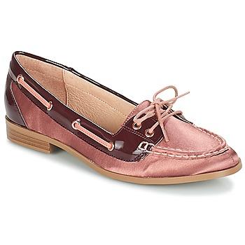 Cipők Női Vitorlás cipők André NONETTE Rózsaszín