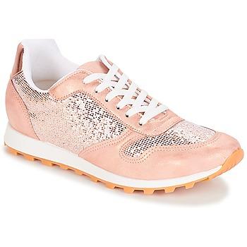 Cipők Női Rövid szárú edzőcipők André RUNY Rózsaszín
