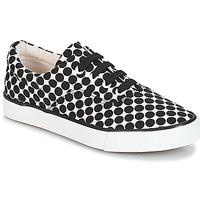 Cipők Női Rövid szárú edzőcipők André FUSION Borsó / Fekete