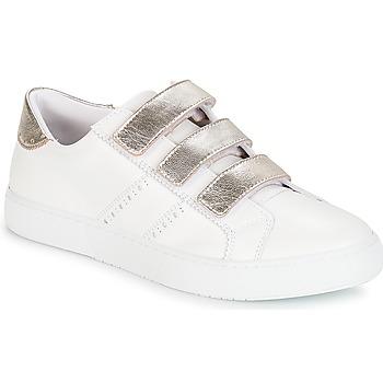 Cipők Női Rövid szárú edzőcipők André PADDLE Fehér
