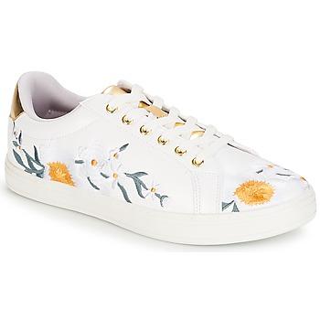 Cipők Női Rövid szárú edzőcipők André COROLLE Fehér