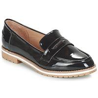Cipők Női Mokkaszínek André PORTLAND Fekete