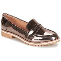 Cipők Női Mokkaszínek André PORTLAND Ezüst