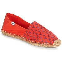 Cipők Férfi Gyékény talpú cipők André OHE MATELOT Piros