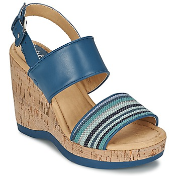 Cipők Női Szandálok / Saruk Hush puppies GRACE LUCCA Kék