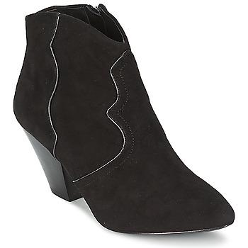 Cipők Női Bokacsizmák Ash GANG Fekete