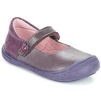 Cipők Lány Balerina cipők / babák Citrouille et Compagnie JITSONBU Lila