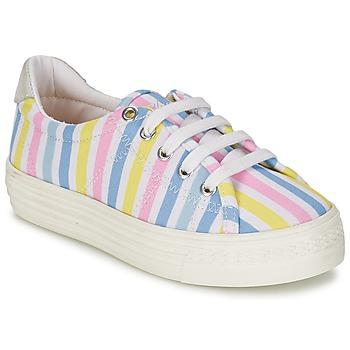 Cipők Lány Rövid szárú edzőcipők Shwik STEP LO CUT Sokszínű