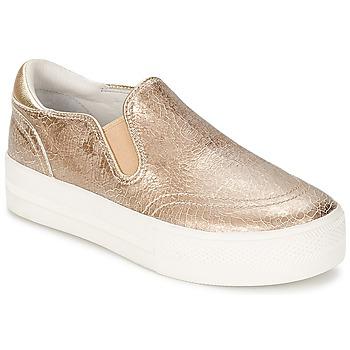 Cipők Női Belebújós cipők Ash JUNGLE Arany