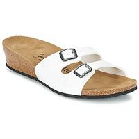 Shoes Női Papucsok Papillio ANNE Fényes / Fehér