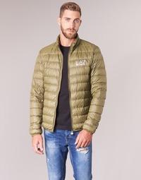 Ruhák Férfi Steppelt kabátok Emporio Armani EA7 TRAIN CORE ID M DOWN LIGHT Barna