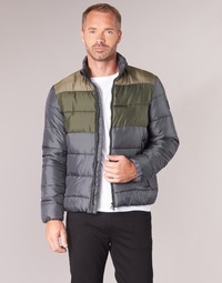 Ruhák Férfi Steppelt kabátok Emporio Armani EA7 MOUNTAIN M MEDIUM TRITONAL JACKET Fekete  / Keki