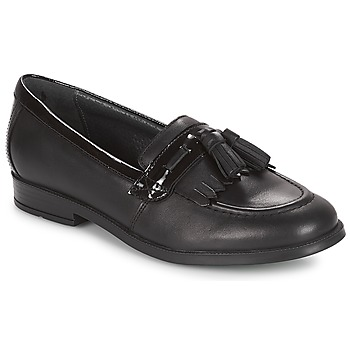Cipők Lány Mokkaszínek Start Rite LOAFER PRI Fekete