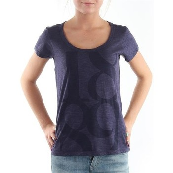 Ruhák Női Rövid ujjú pólók Lee T-Shirt  Scoop Mystic Plum 40KFL87 niebieski