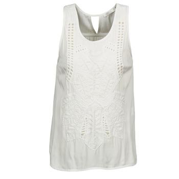 Ruhák Női Trikók / Ujjatlan pólók See U Soon CHELSEA Fehér / Szürke