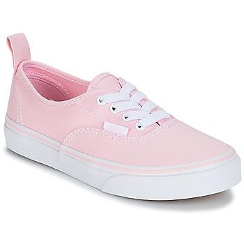 Cipők Lány Rövid szárú edzőcipők Vans UY AUTHENTIC Rózsaszín