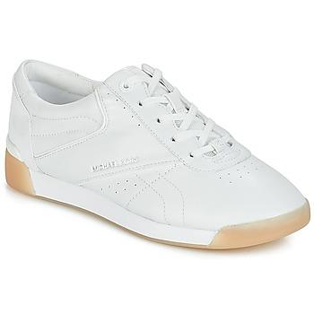 Cipők Női Rövid szárú edzőcipők MICHAEL Michael Kors ADDIE LACE UP Fehér