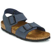 Shoes Gyerek Szandálok / Saruk Birkenstock NEW YORK Tengerész