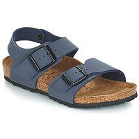 Cipők Fiú Szandálok / Saruk Birkenstock NEW YORK Kék