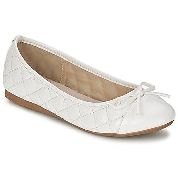 Shoes Női Balerina cipők / babák Moony Mood VOHEMA Fehér / Lakkozott