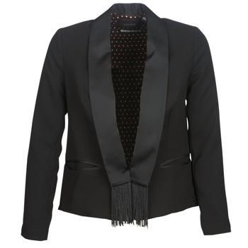 Ruhák Női Kabátok / Blézerek Maison Scotch BOUKOUM Fekete