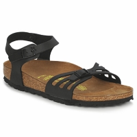 Cipők Női Szandálok / Saruk Birkenstock BALI Fekete  / Matt