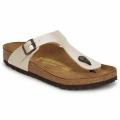 Cipők Női Lábujjközös papucsok Birkenstock GIZEH Krém