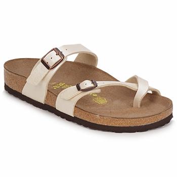 Cipők Női Papucsok Birkenstock MAYARI Krém