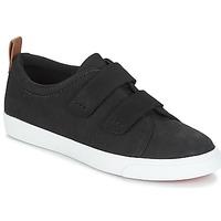 Cipők Női Rövid szárú edzőcipők Clarks Glove Daisy Fekete / Combi / Nbk